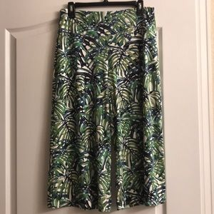 J. Jill smooth fit wide leg cropped size S